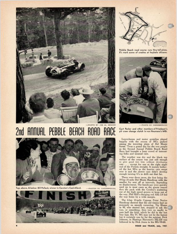 Road & Track Archive Snapshot - Allard Arrive and Drive in 1951