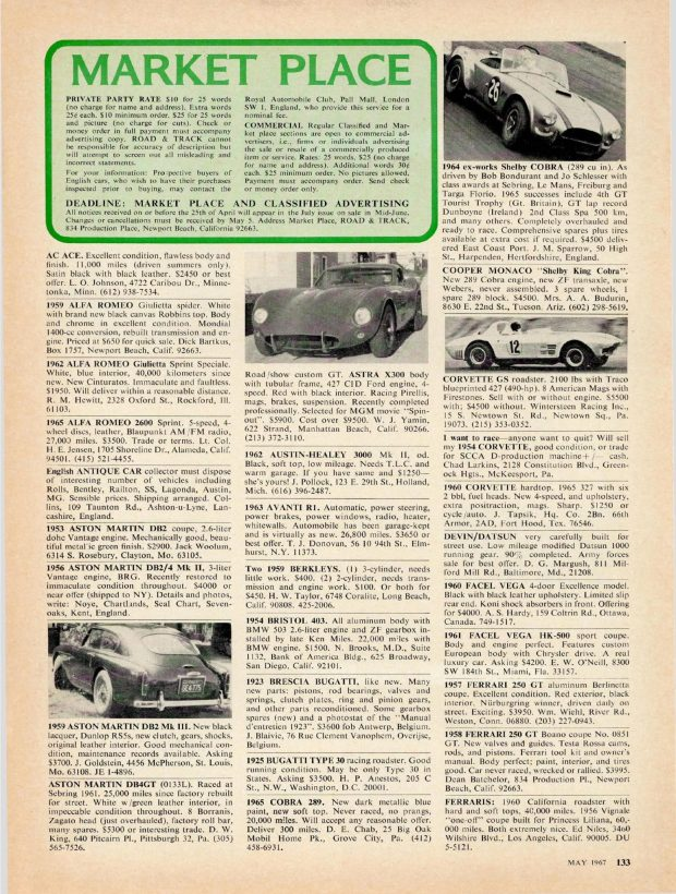 R&T Marketplace Finds - May 1967: Where Are They Now?