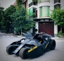 Batmobile replica took 10 months and $22K to build, is 90% complete
