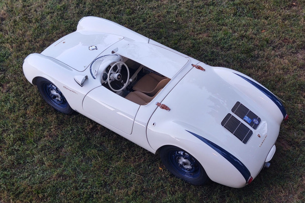 Aluminum-Bodied Porsche 550 Spyder Re-Creation
