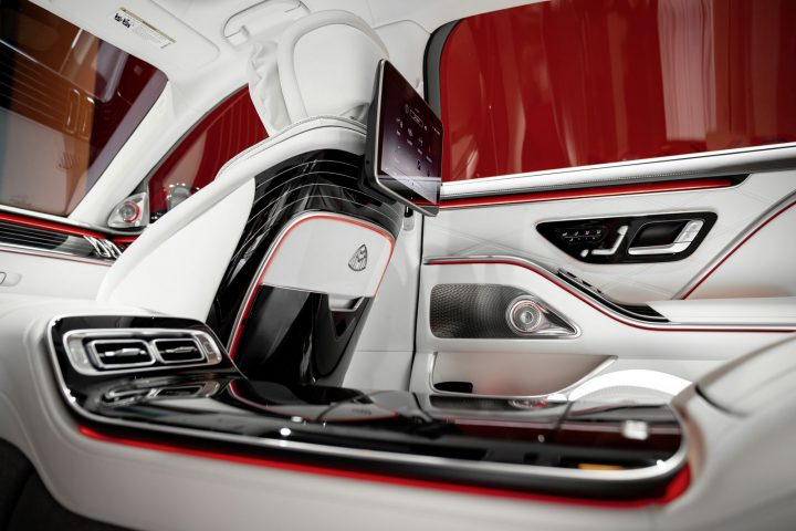 Mercedes Maybach S Class Interior Design Detail