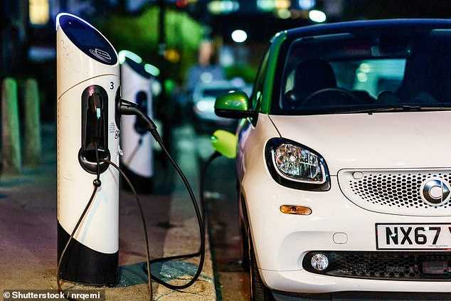 Within a decade, electric cars may well make perfect sense for all motorists, as a truly green option. Pictured: Smart electric car charging in London