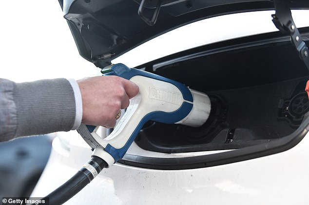 But a large part of the reason why electric cars are cheaper to run is that their owners don¿t pay road tax or fuel duty (stock image)