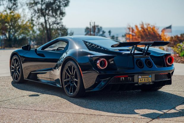214-Mile 2018 Ford GT