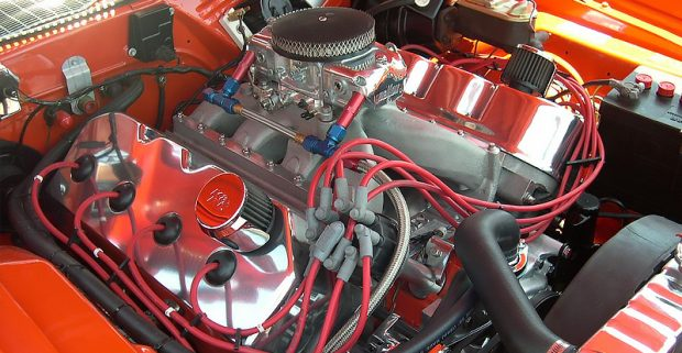 Muscle Cars-engine