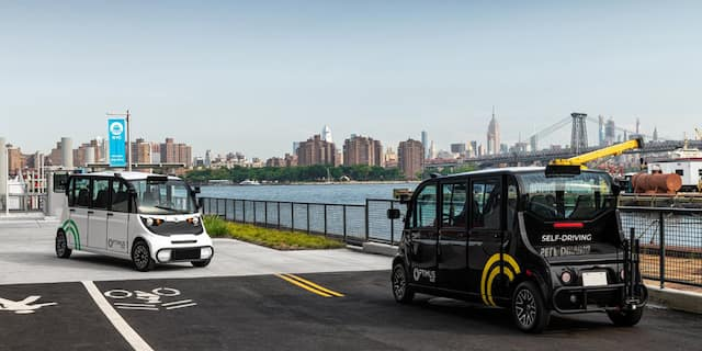 Polaris and Optimus Ride are jointly-developing a production autonomous shuttle.