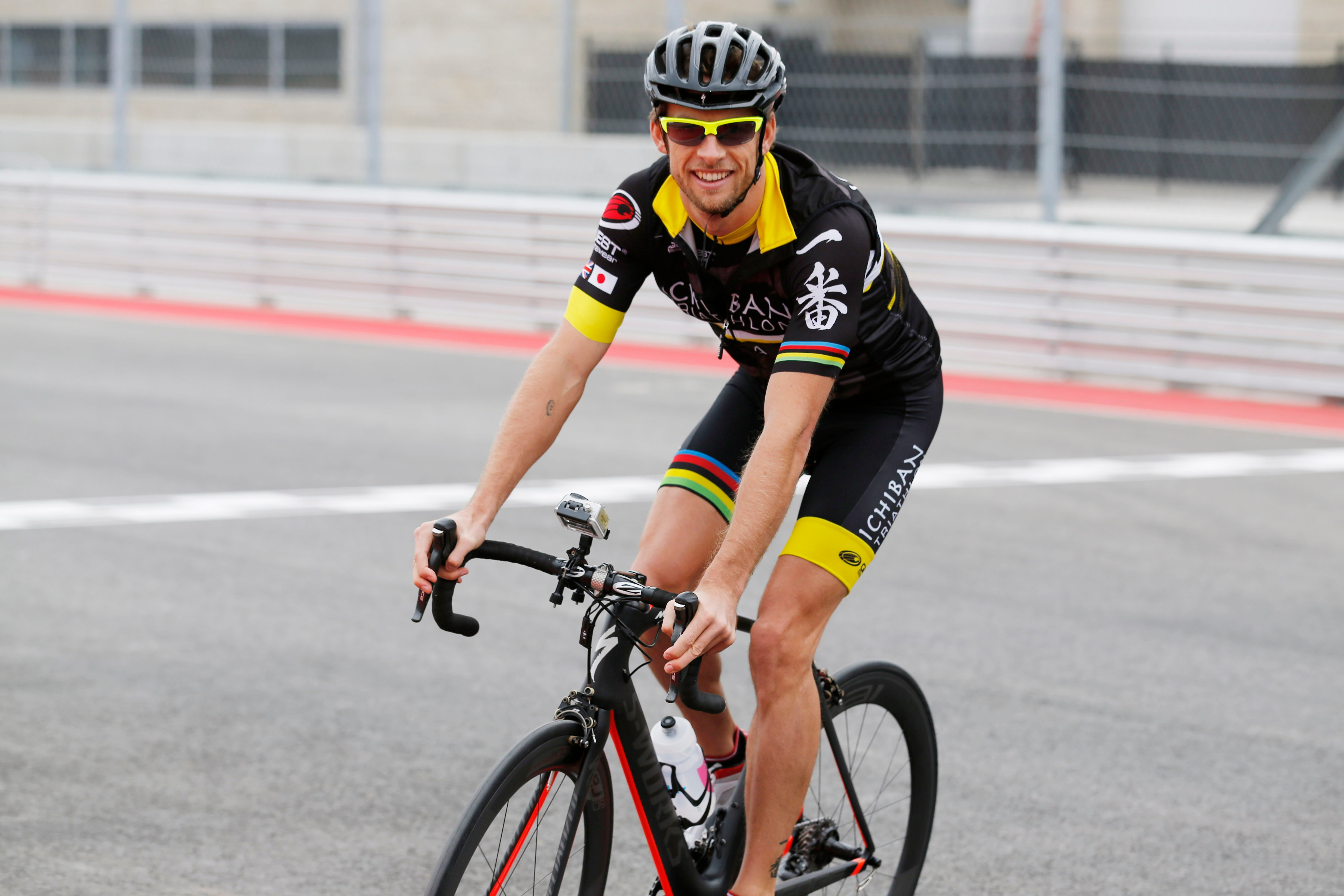 Jenson Button used triathlons to train