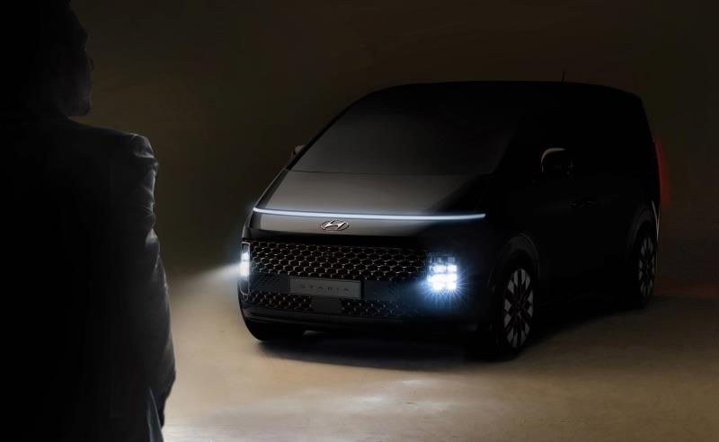 Hyundai Motor Offers First Peek at STARIA, New MPV with Premium and Futuristic Design