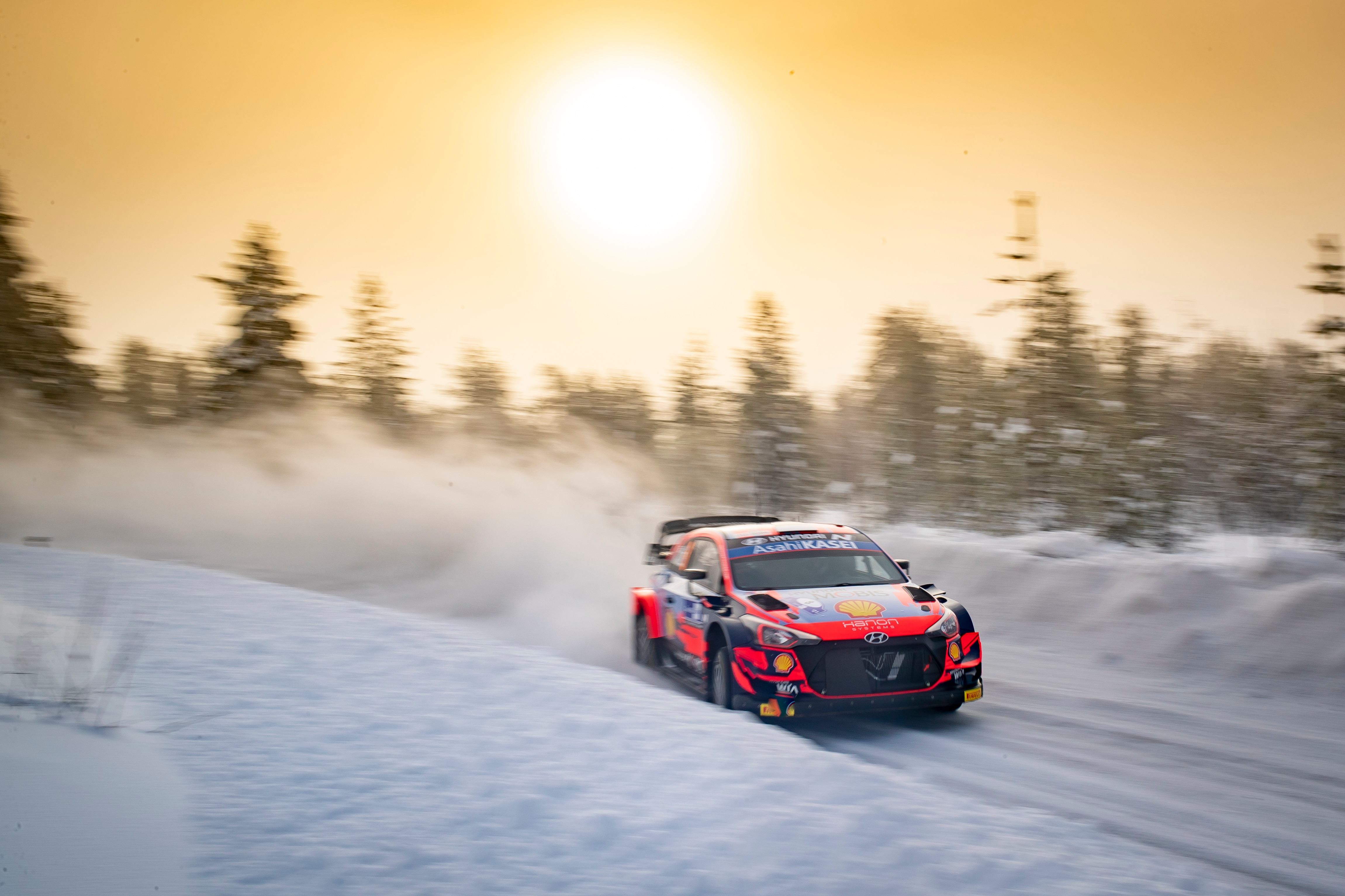 Ott Tänak (EST), Hyundai World Rally Team, Hyundai i20 Coupe WRC 2021 Arctic Rally